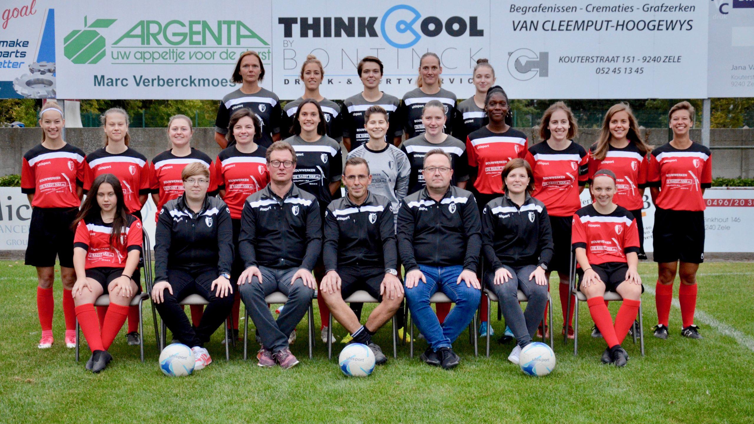 Dames voetbal Zele KFC Eendracht Zele
