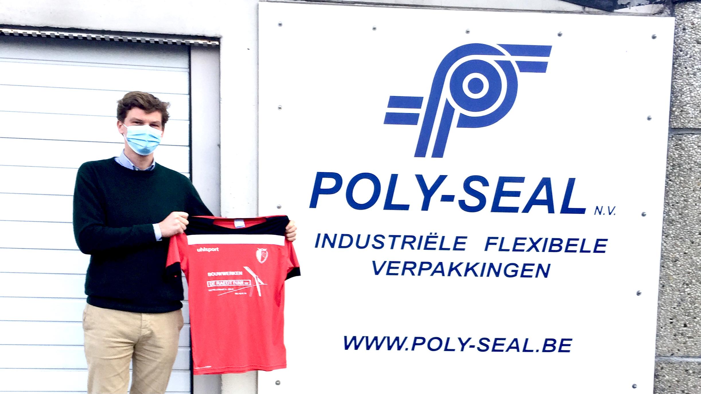Poly Seal Sponsor Eendracht Zele