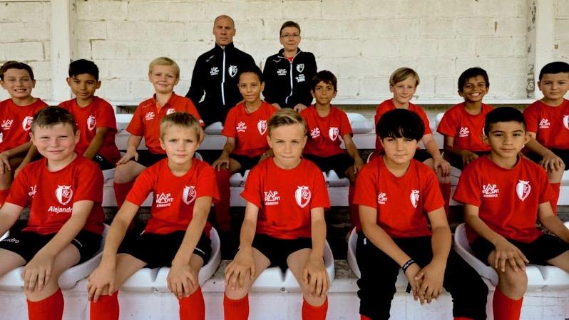 U10 Voetbalgroep KFC Eendracht Zele
