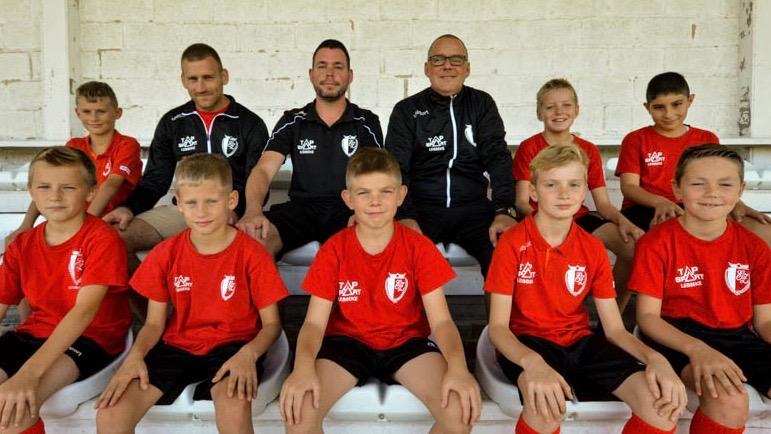 U11 Voetbalgroep KFC Eendracht Zele