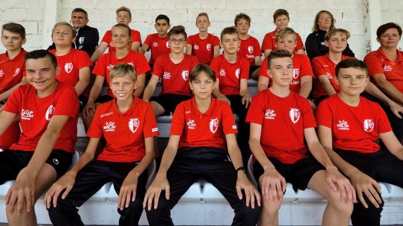 U15 Voetbalgroep KFC eendracht Zele
