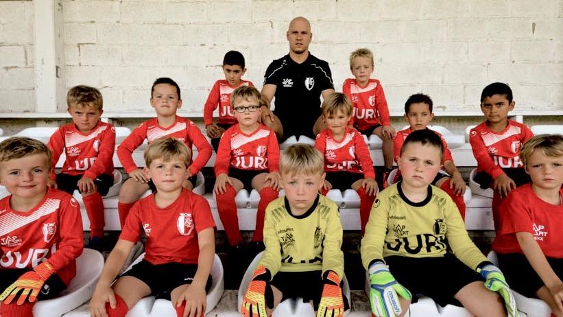 U7 Voetbalgroep KFC eendracht Zele