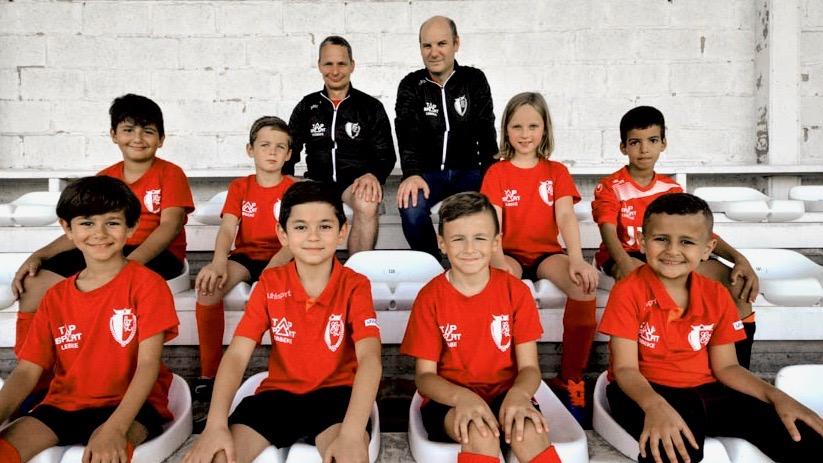 U8 Voetbalgroep KFC Eendracht Zele
