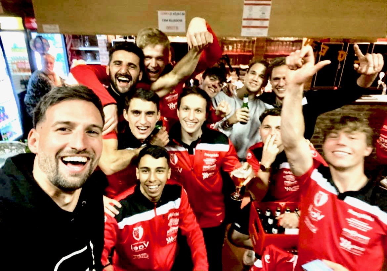 KFC Eendracht Zele Aploeg tegen SK Berlare